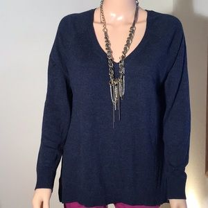 Banana Republic Sweater knit front/rayon back